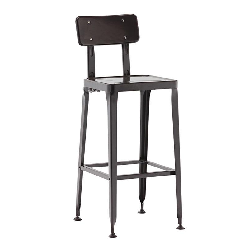 Metal restaurant & bar furniture lyon high bar chairs for sale GA501C-65ST