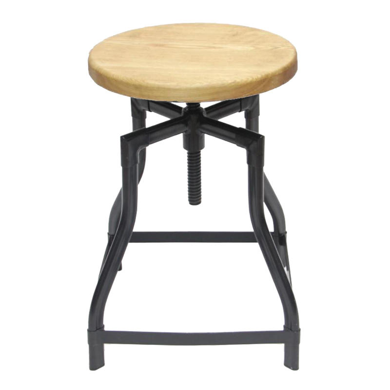 China Vintage Industrial Metal Stool Chair GA601C-45STW