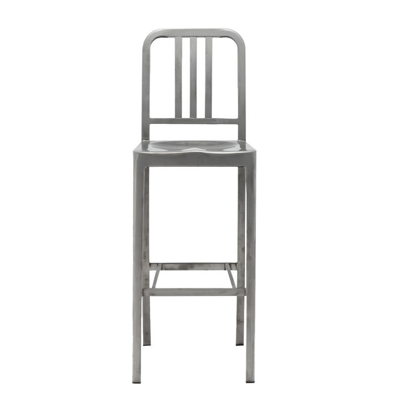 Retro Steel Navy Stool GA1001C-75ST