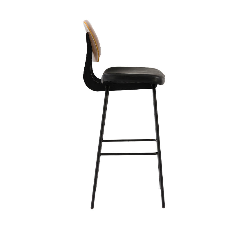 Factory wholesaler Replica hans j wegner ox chair solid wood frame leather seat elbow chair GA3501C-75STP