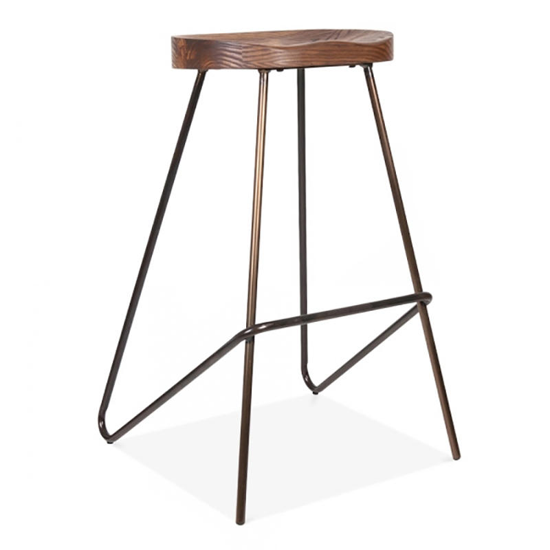 Comfortable Antique Metal Industrial Tractor Stool for Bar GA3702C-65STW