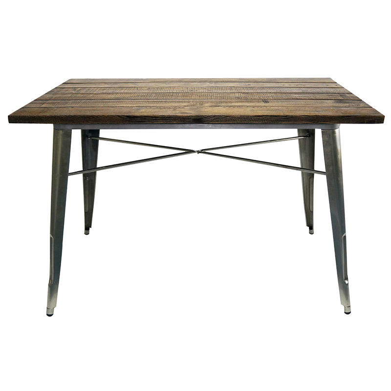 Wooden dining table / do old board/ kitchen table,simple solid wood table GA101T