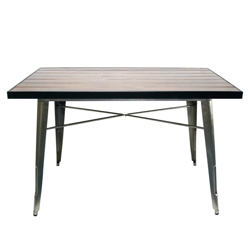 1.8m Industrial Marias Deaign Natural Wood Table GA101T