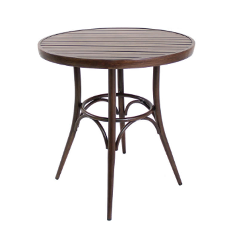 Metal Bent Wood Design Thonet Dining Table GA901T