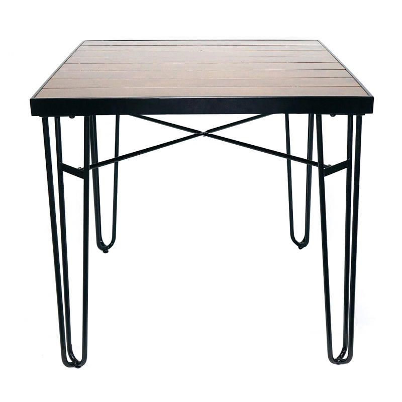 4 Seater Hairpin Legs Metal Dining Table GA2208T
