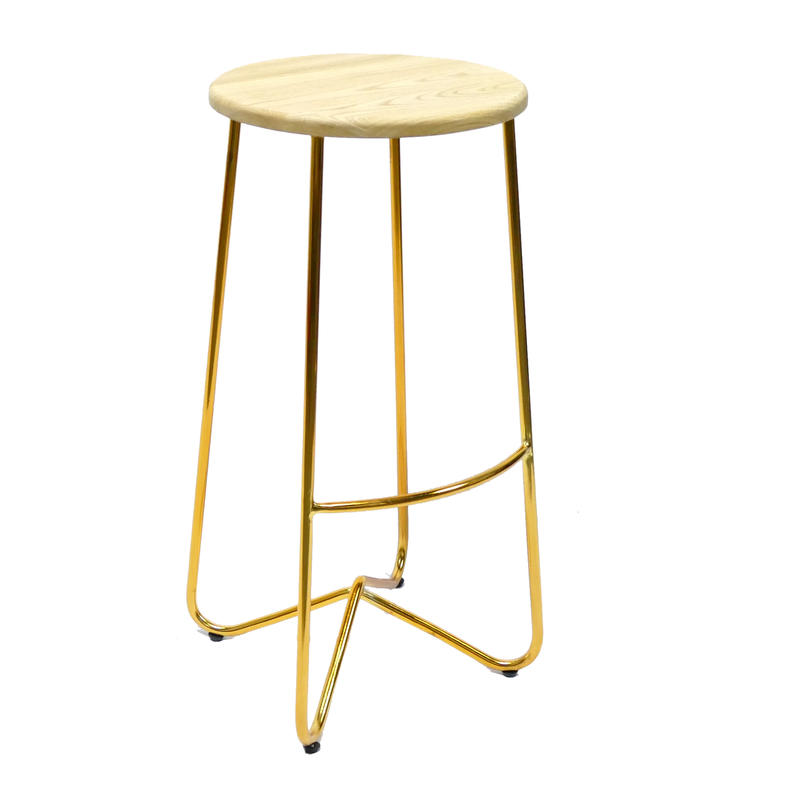 Vintage Industrial Metal Barstool Steel Wire Chairs Stool Unique Restaurant Furniture GA2703C-70STW