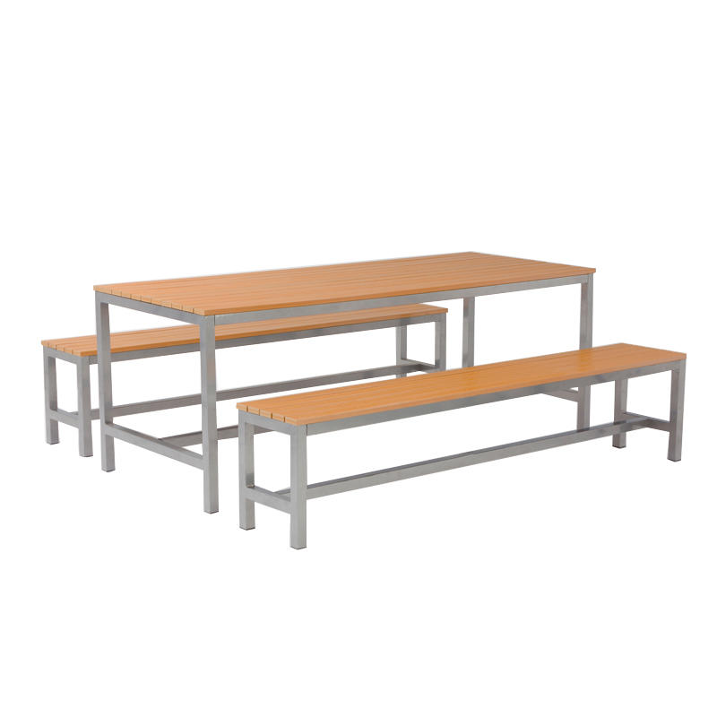 Outdoor Furniture Wood Top Large GardenTable