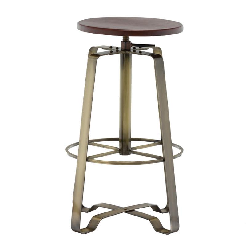 High quality metal bar stool star base in black powder GA607C-65STW