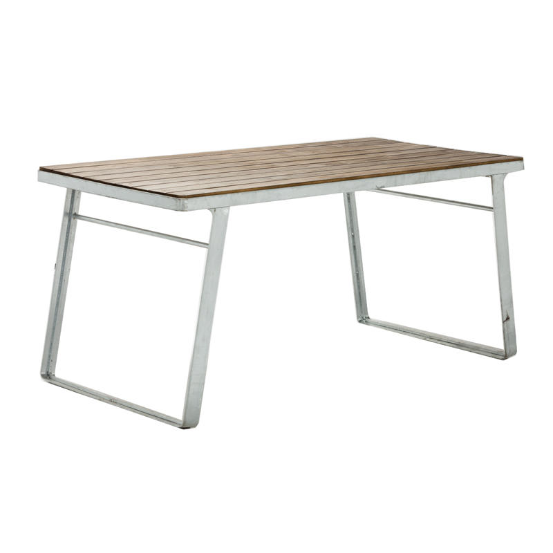 Wholesale Galvanized Metal Frame Outdoor Tables GA3101T