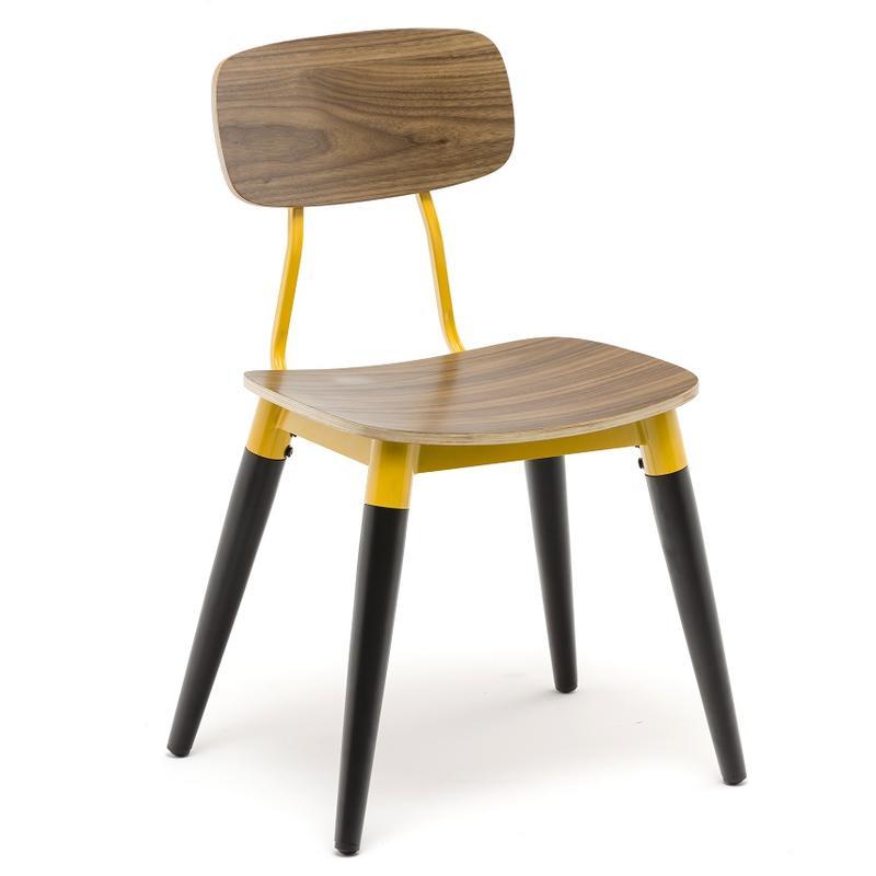 Dark Walnut Wooden Dining Chair GA2002C
