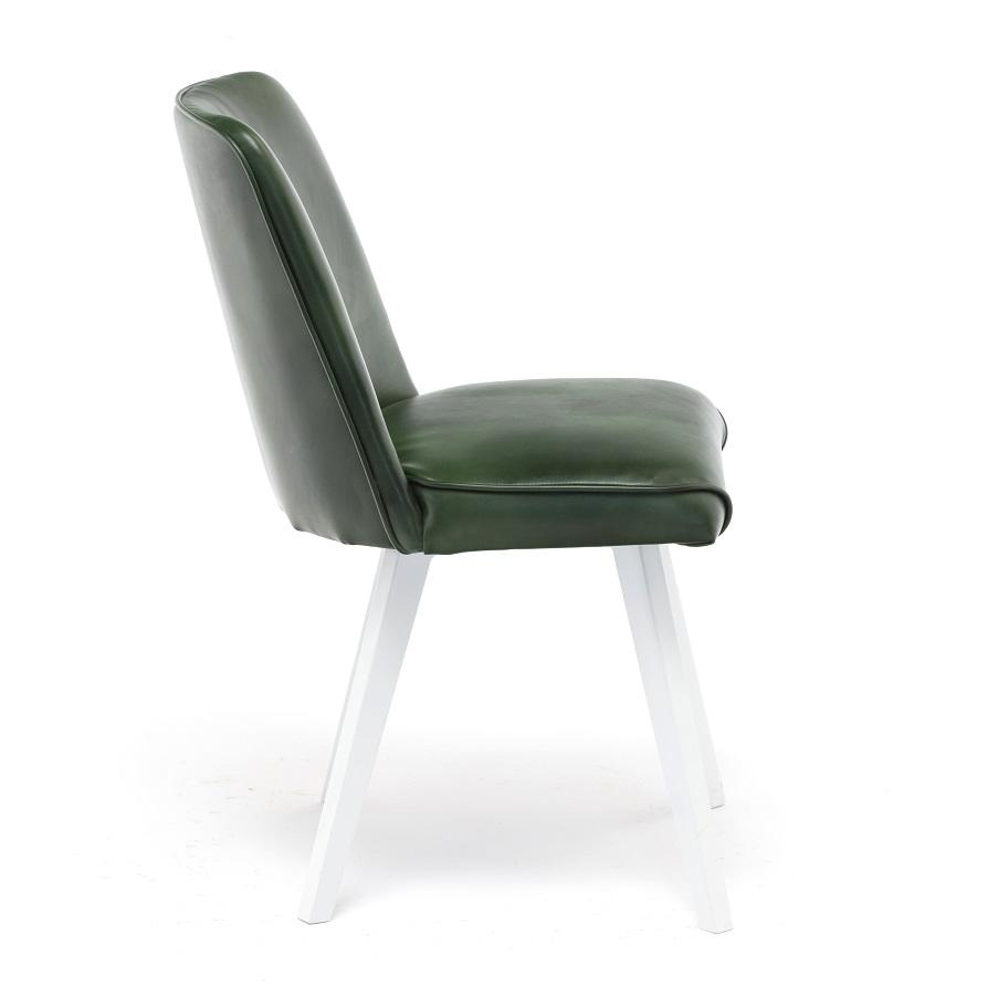 Modern Leather Cafe chair