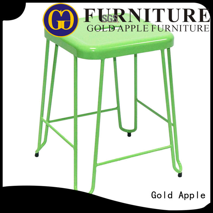 Gold Apple industrial modern low stools fashion restaurant chairs
