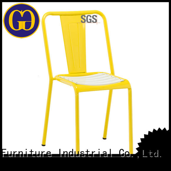 Gold Apple simple small patio chairs modern coffee chairs