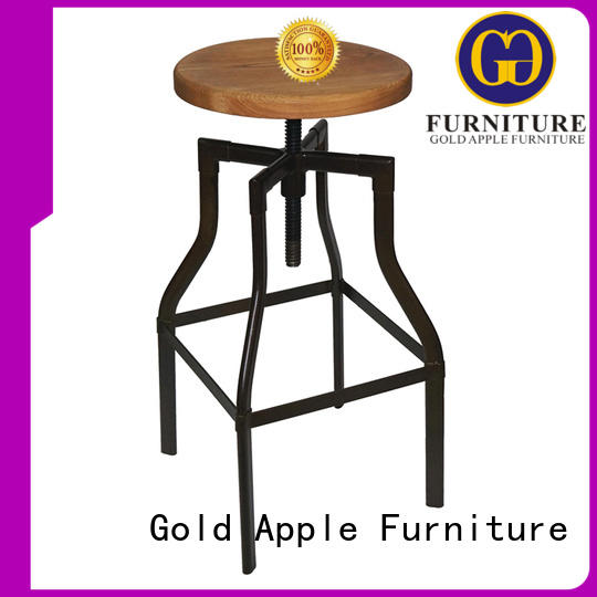 new design cheap metal dining room bar stool suppliers GA601C-65STW