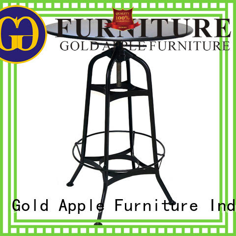 modern commercial bar tables top high-quality Gold Apple