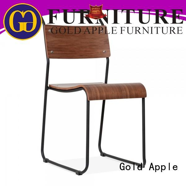 Gold Apple stacking stacking dining chairs french for restaurant