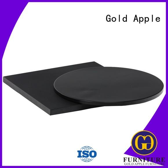 Gold Apple wholesale black metal table legs personalized for bistro