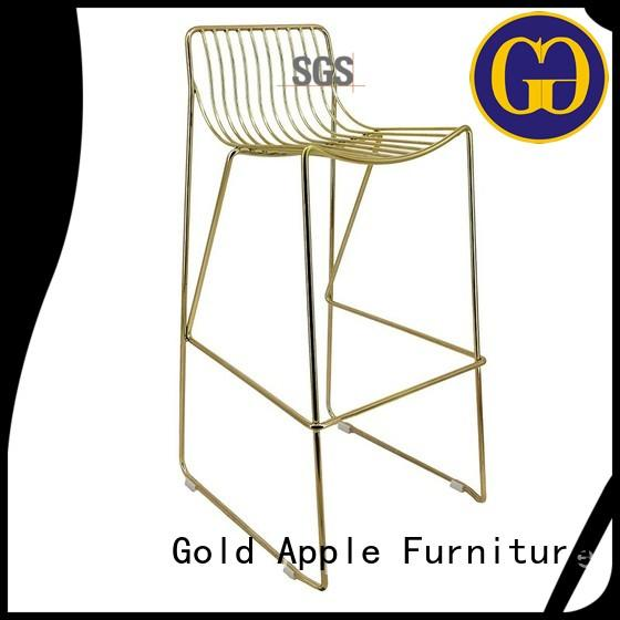 industrial outdoor garden stool industrial for bar Gold Apple