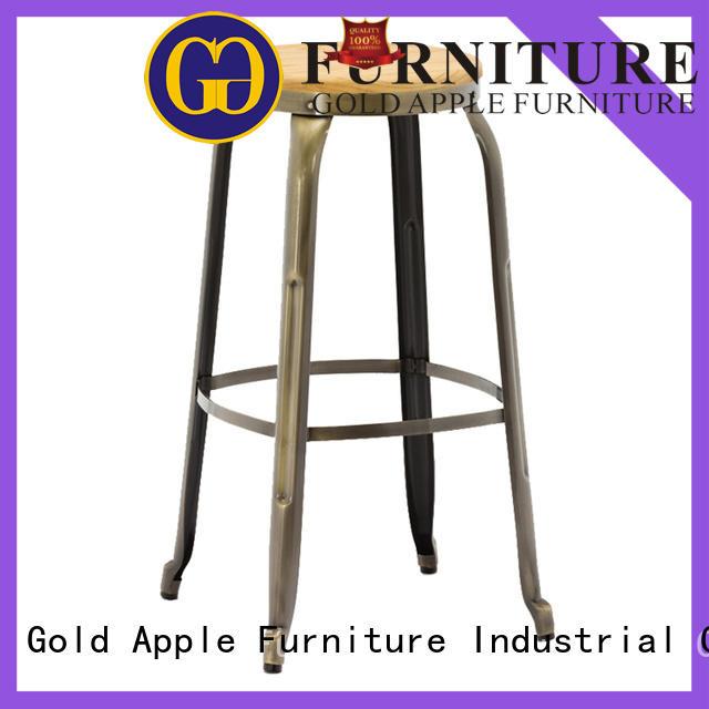 Gold Apple antique wooden bar stools for sale elegant for kitchen