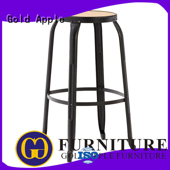 Gold Apple vintage counter stool chairs dinning room bar furniture