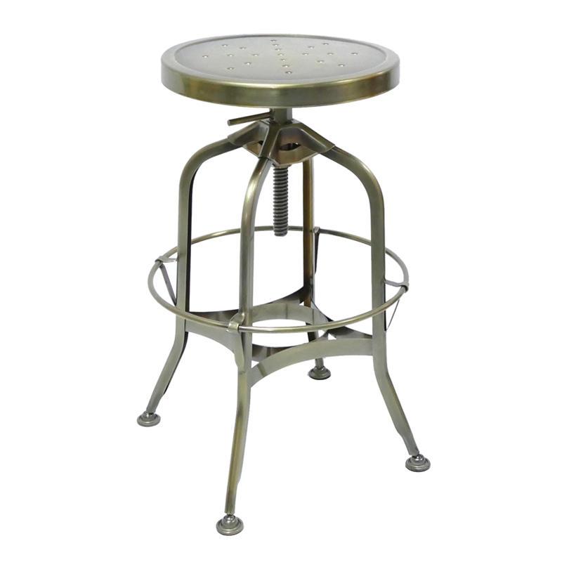 Wholesale Vintage Industrial Antique Style Barstool Metal Bar Stool GA403C-65ST-1