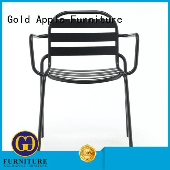 Gold Apple commercial stacking office chairs classic design for furniture