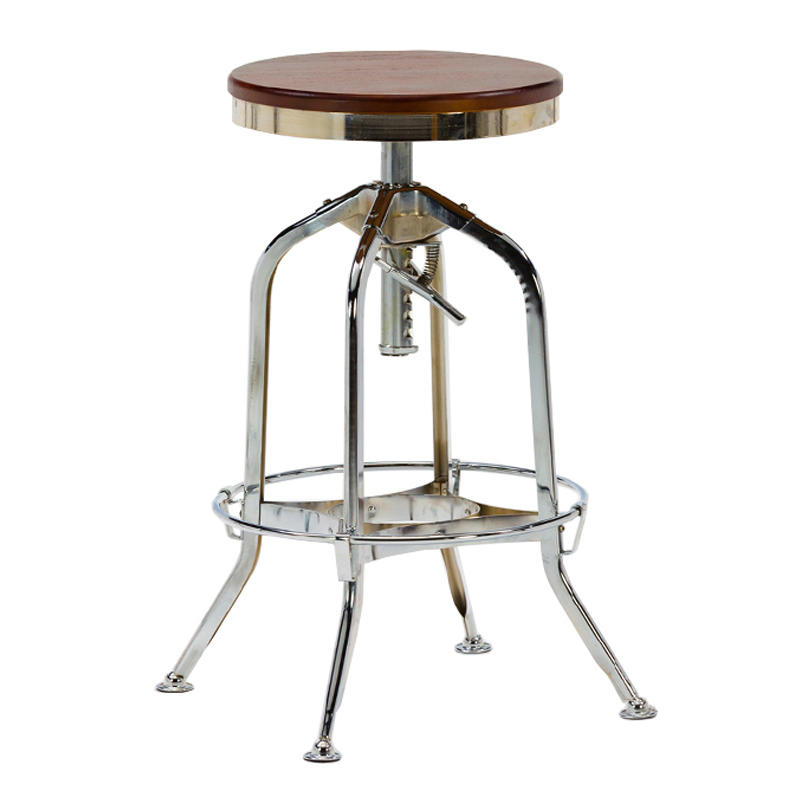 High stainless steel bar stool personality high stool GA401C-65STW-1