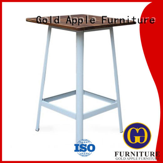 indoor bar table table galvanized Gold Apple Brand