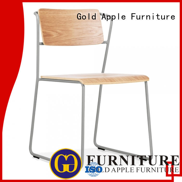 Gold Apple low-price solid wood kitchen chairs coffee shop
