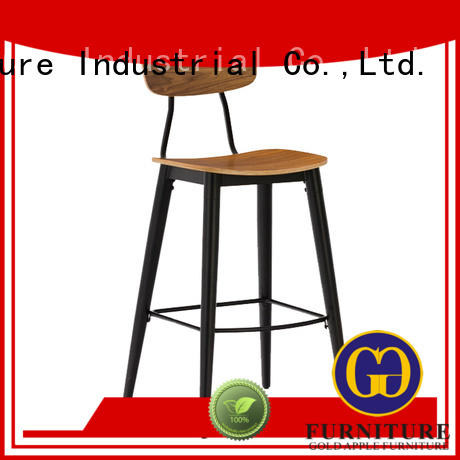 Gold Apple customized hydraulic bar stool stackable adjustable height
