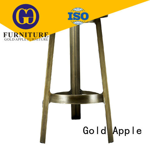 Wholesale metal high bar stool with pvc cushion cheap stools GA2301ST-65ST