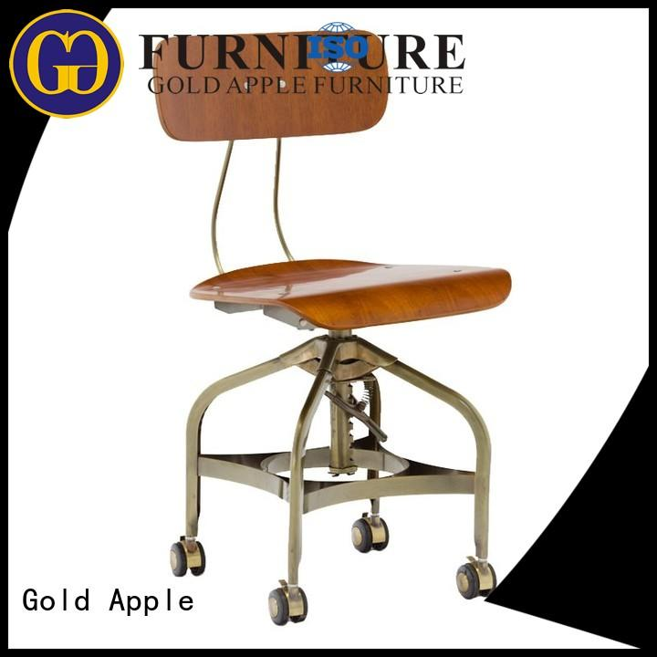 Gold Apple Brand wheels vintage office chair manufacturer manufacture