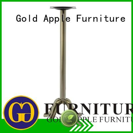 Gold Apple high-quality table legs for sale personalized for hotel