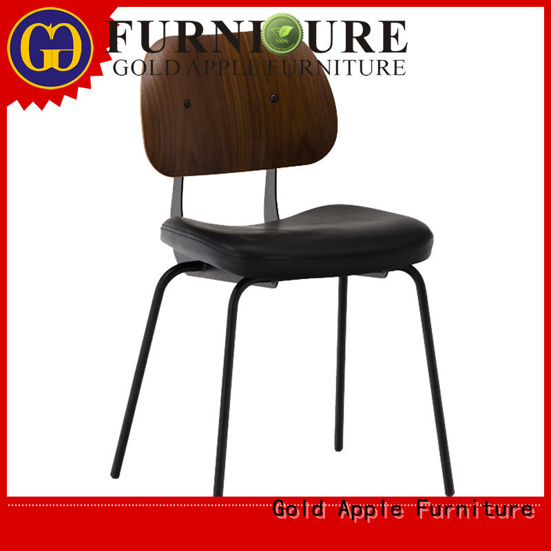Gold Apple upholstered upholstered kitchen chairs modern pu leather