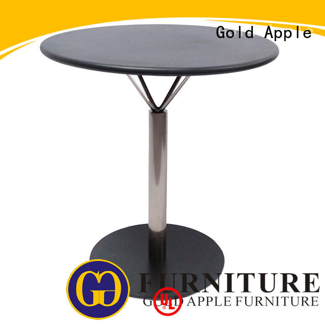 chic design large round wood dining table hot-sale commercial for catering