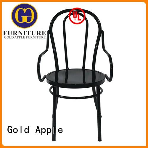 simple outdoor lawn chairs metal frame outdoor cafe dining chair