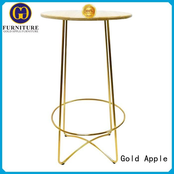 round bar tables for sale adjustable height high-quality Gold Apple