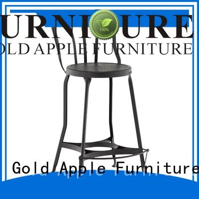 Gold Apple comfortable outside bar stools for bar