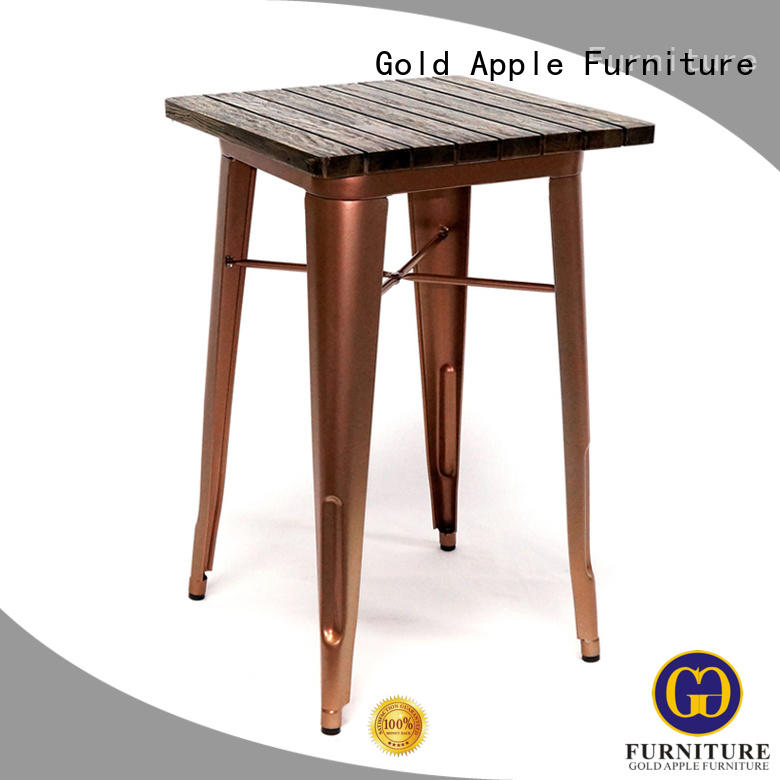 high-quality dark dining table for catering