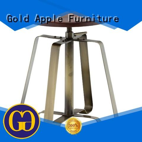 Gold Apple vintage low stool professional for wholesale