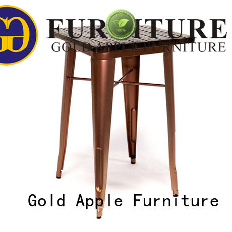 Gold Apple hot-sale wood furniture dining table at discount