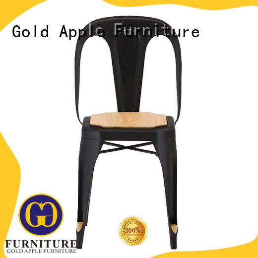 Gold Apple european style modern wood chair for kitchen
