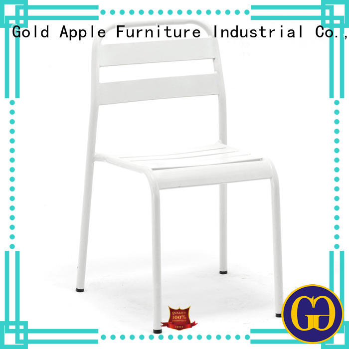 Gold Apple classic outdoor chairs for sale stackable on-sale
