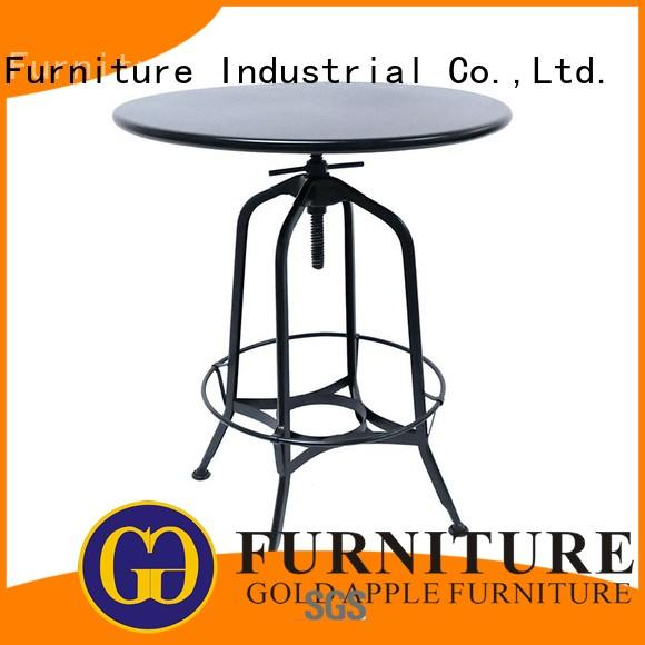 high-end large round wood dining table hot-sale commercial for restaurant