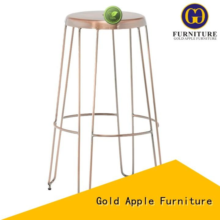 Gold Apple modern outdoor counter height stools vintage wedding furniture