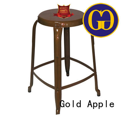 Gold Apple outdoor patio bar stools on-sale for garden