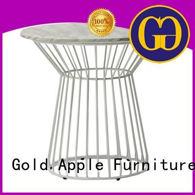 Gold Apple high-quality long wood dining table commercial at discount