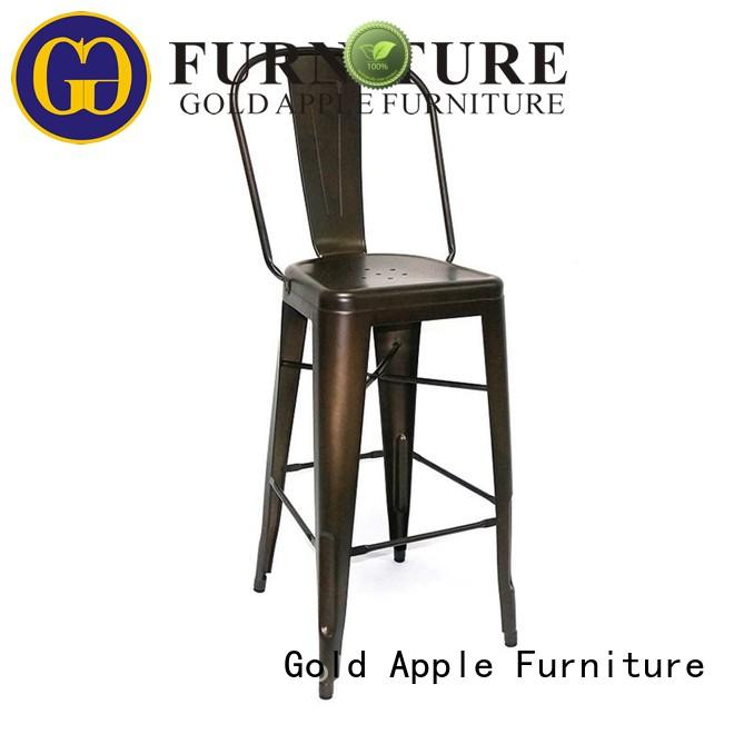 tropical bar stools industrial stackable coffee shop furniture