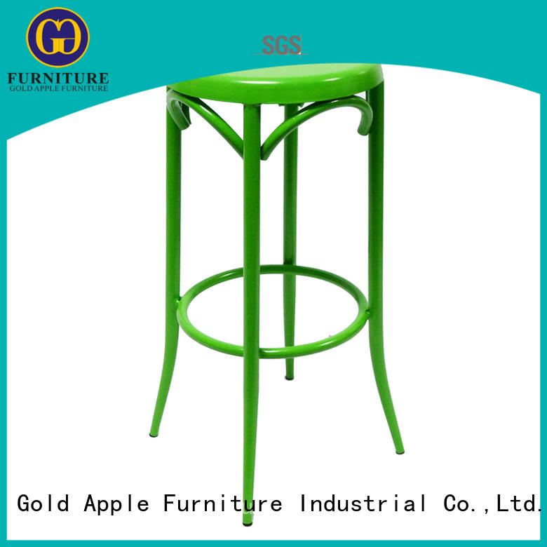 Gold Apple modern patio bar stools vintage