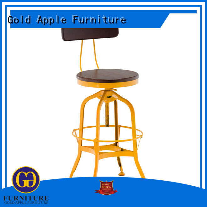 wooden bar stools for sale vintage restaurant Gold Apple